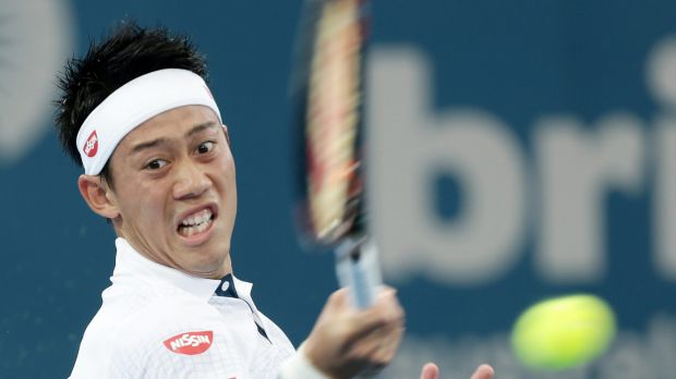 Kei Nishikori faced 18 aces from Bernard Tomic.