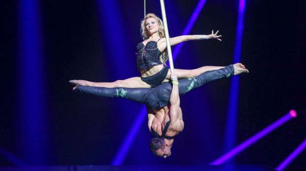 Each performer was picked from among the best circus entertainers around the world.