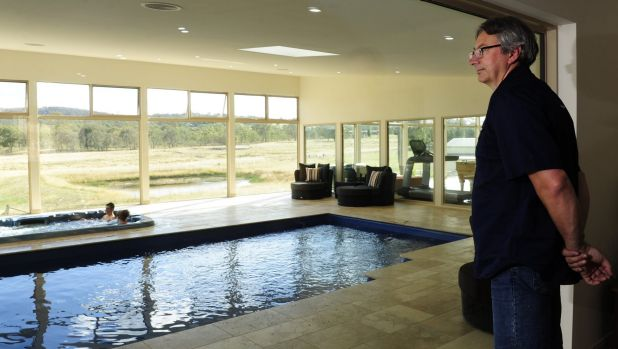 Poolscaping and mineral water lead canberra 39 s pool trends for Act 2 salon fairfax