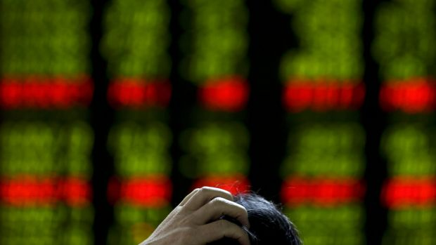 Global markets are jittery at the prospect of a weakening Chinese economy.