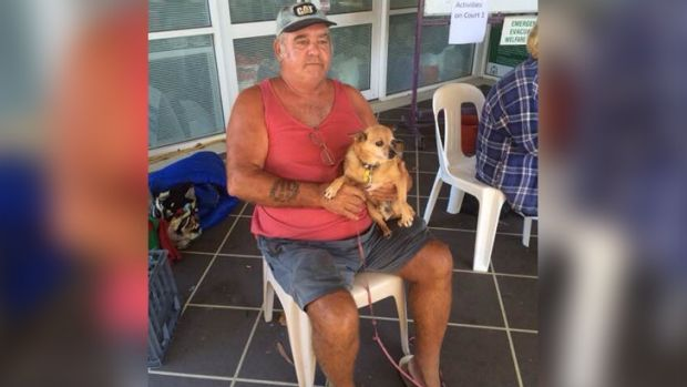 Yarloop man Rod Kennedy escaped with his life intact - but his house was left in ruins.