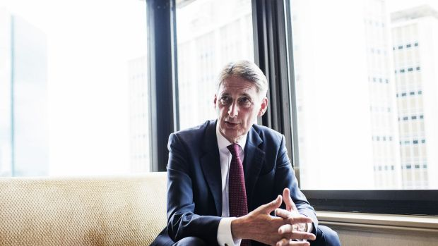 Britain's Foreign Secretary Philip Hammond said he had made no progress on the case.