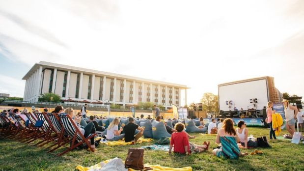 The latest season of Ben & Jerry's Openair Cinemas in Canberra begins on January 14 at the Patrick White Lawns.