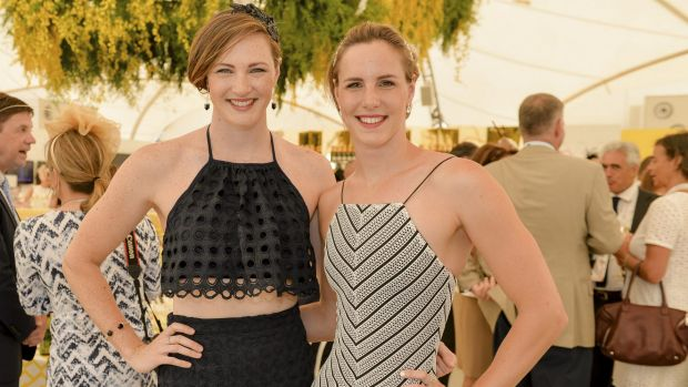 Cate Campbell and Bronte Campbell.