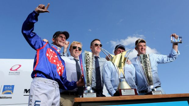 The best products from Magic Millions got the cash in $1 million races at the meeting.