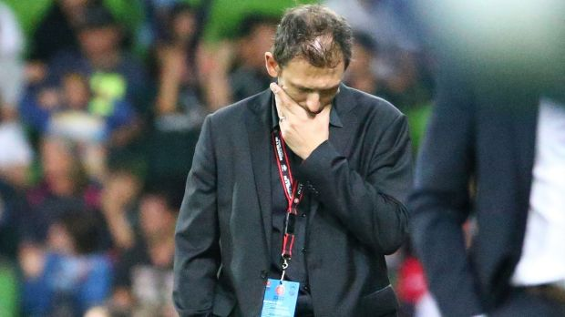 Wanderers' coach ony Popovic ponders what might have been after the game.