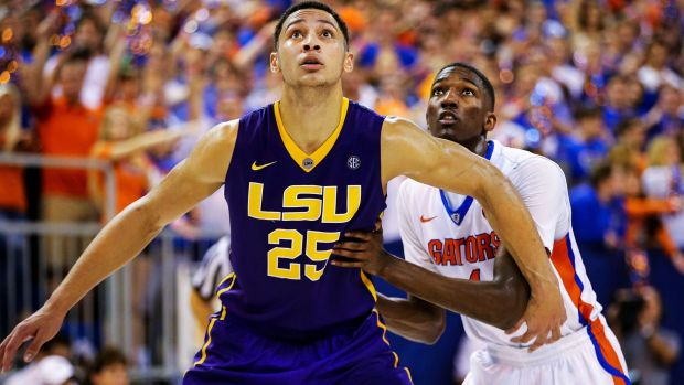 Unstoppable force: LSU forward Ben Simmons.
