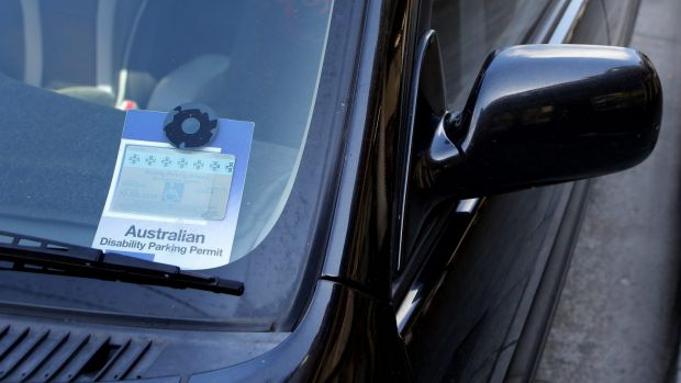 A Canberra woman was fined for failing to display her ACT mobility parking permit inside the Australian Disability ...