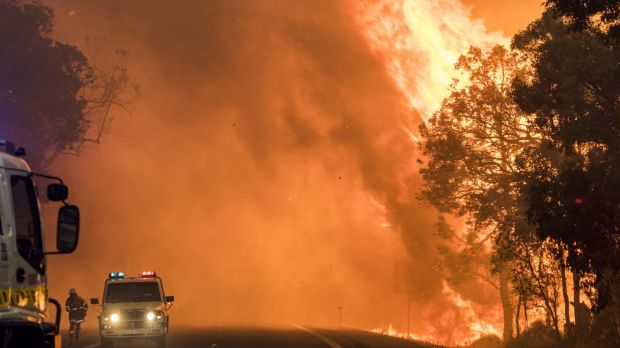 Farmers have been hit by the scammers following fires in the South West.