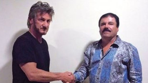 "The New York Times has published a Rolling Stone photo of Sean Penn with El Chapo taken ""for interview identification ..."