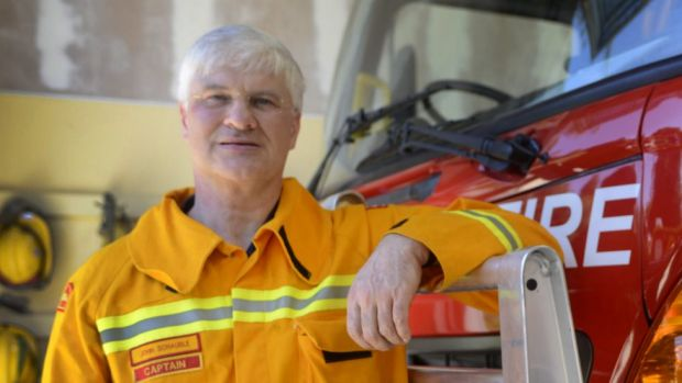 John Schauble says setting up the expectation that firefighters are expected to act heroically is pretty much contrary ...
