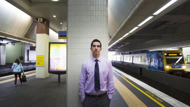 Whitehorse Council's Jeff Green says Box Hill station works as a shopping centre, but fails as a transport hub. The ...