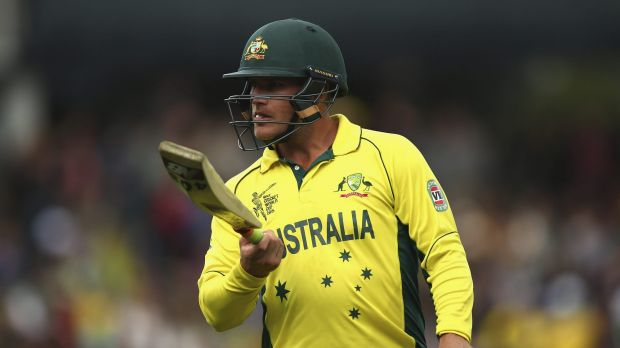 Extra bounce:  Aaron Finch says the Australian quicks are looking to make the most of the fast Perth pitch.