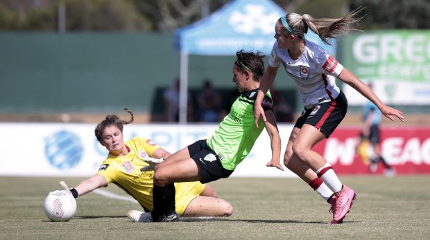 Canberra United players are asked to hand in their mobile phones as soon as they arrive at grounds on W-League game day.