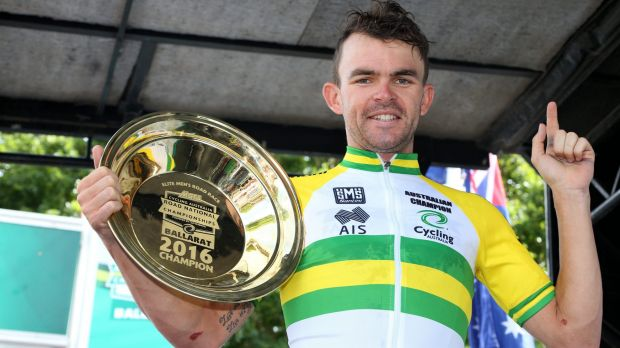 "Australian Road championship winner Jack Bobridge labelled his ride ""redemption"" for his disappointing 10th place in ..."