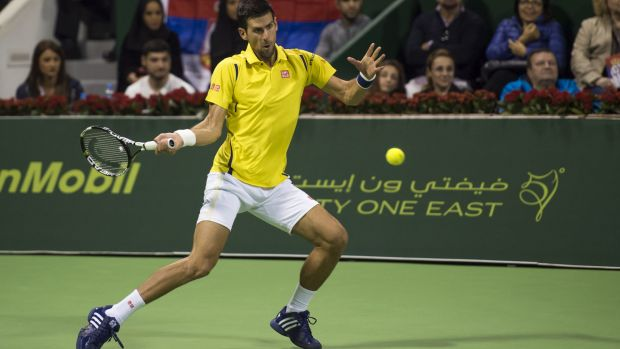 Drawcard: Fast 4 could see Novak Djokovic down under more often.