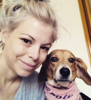 American expat Ashley Ann Olsen was well known in Florence for her beagle, Scout.