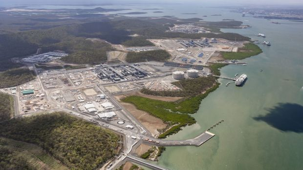 Some of the new Queensland LNG plants are considered vulnerable to write-downs.