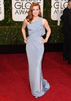 Amy Adams at the 2015 Golden Globes.