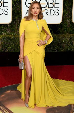 BEVERLY HILLS, CA - JANUARY 10:  Actress/singer Jennifer Lopez attends the 73rd Annual Golden Globe Awards held at the ...