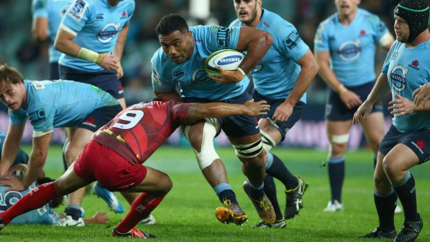 Back in blue: Wycliff Palu.