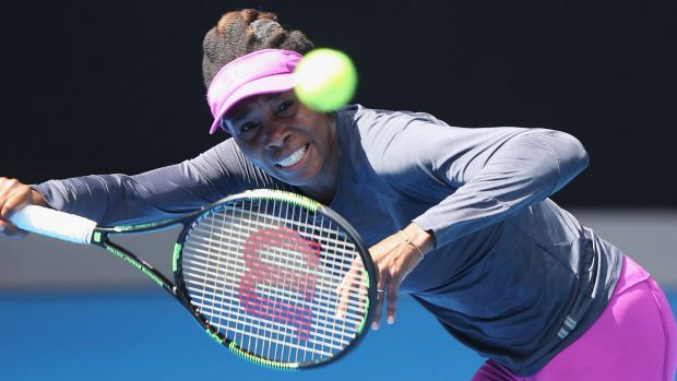 Venus Williams, during a practice session, is likely to find herself among the top eight seeded women in the women's draw.