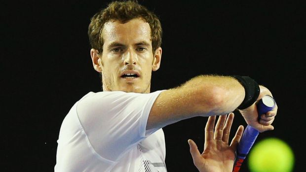 Chasing title: Britain's Andy Murray would love to end his run of near-misses at the Australian Open.