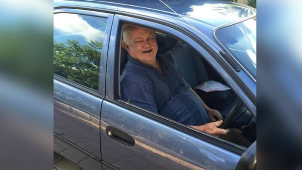 Yarloop resident Graham on Sunday received a donated car.