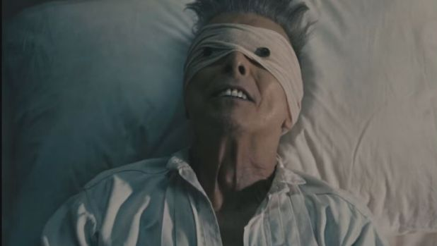 David Bowie's final video was released three days before his death.