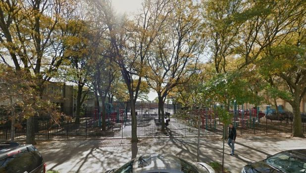 Local residents say Osborn Playground in Brooklyn is a dangerous place after dark.