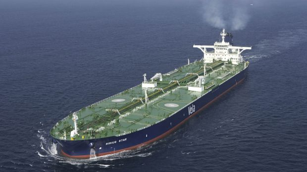 Iran has started shipping oil to Europe, adding to the global supply glut.