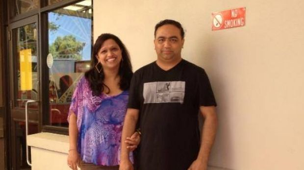 Anamika and Rupen Datta were on a six-week trip to India with their children.