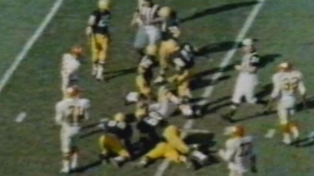 Inaugural champions: The Packers beat the Chiefs in the first ever Super Bowl.
