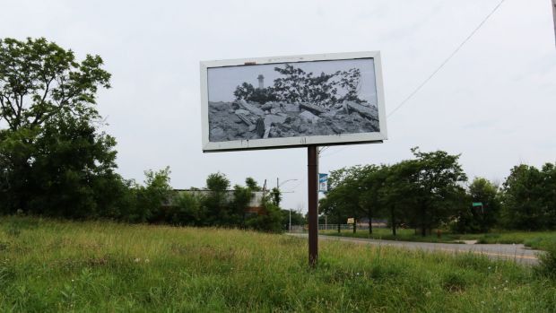 A Grace Herbert image from the Billboards Detroit series.