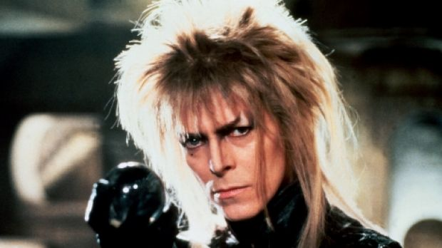 One of David Bowie's most memorable film roles, as the Goblin King in 1986's Labyrinth.