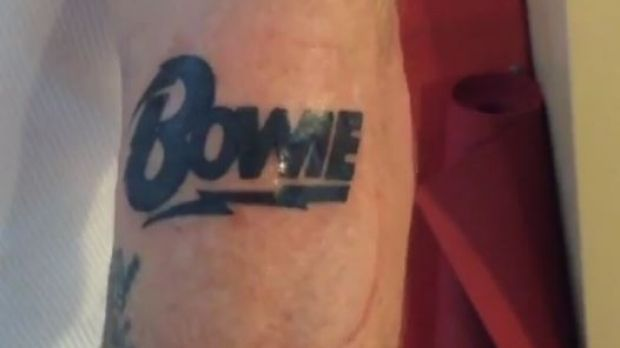 Red Hot Chili Peppers' bassist Flea shared a video of his new tattoo on Instagram.