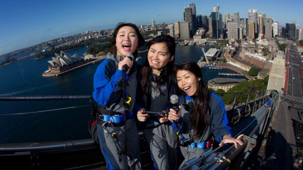 Sydney's BridgeClimb will offer special Mandarin-language climbs featuring karaoke at the top for the Chinese New Year ...