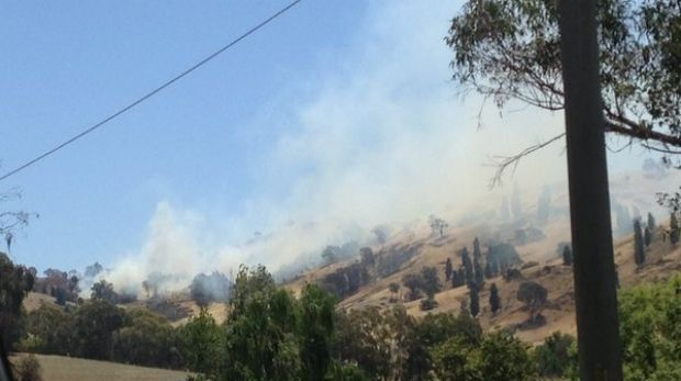 An emergency warning has been issued for a fast moving grassfire in Leneva.