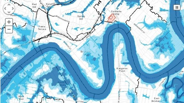 Flood awareness maps show areas likely to flood again.