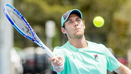Matthew Ebden marched to his first tour level semi-final in Newport