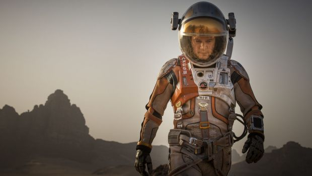 The Martian has grossed more than $US600 million in box office sales.