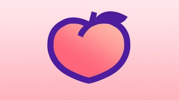 The new Peach social network app lets friends share anything from doodles to animated GIFs to micro-blogs.