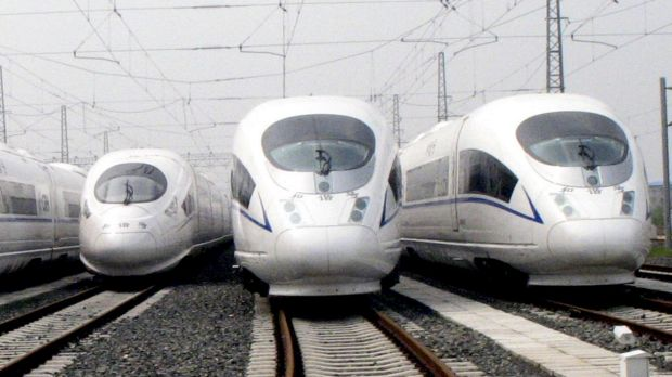 The federal government's infrastructure advisory agency says high speed trains could be running between Canberra and ...