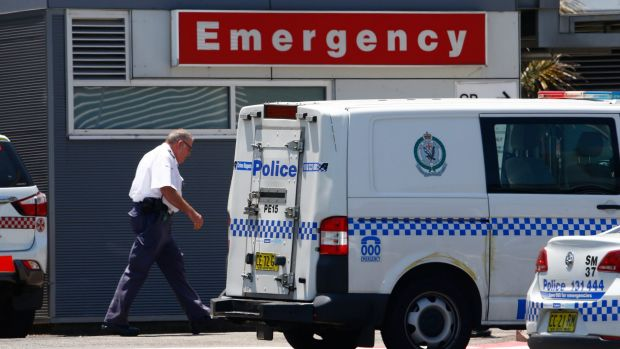 Police attended Nepean Hospital emergency department on January 13 following a near-fatal shooting the night before.