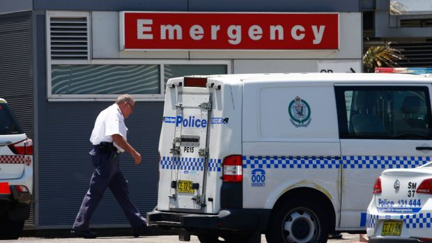 Doctors, nurses and hospital security guards have spoken out about a crisis in NSW hospitals after a near-fatal shooting ...