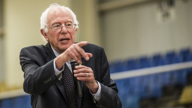 Democratic presidential hopeful Bernie Sanders has won support for his down-to-earth approach.