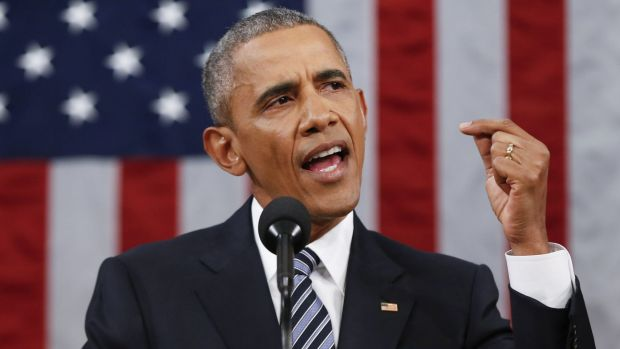 US President Barack Obama noted that technological change was reshaping the planet in his State of the Union address.