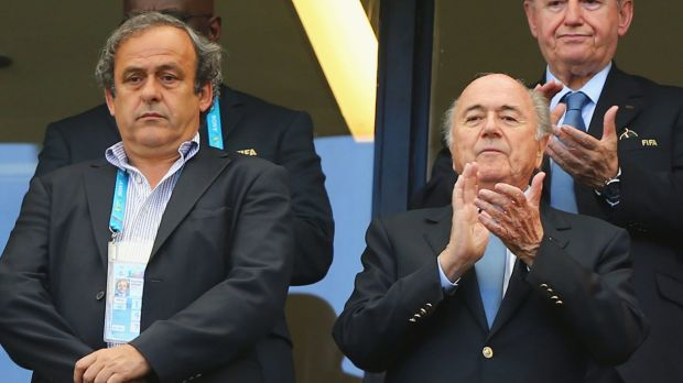 Russia has defended its right to invite banned officials Michel Platini and Sepp Blatter to the 2018 World Cup.