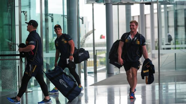 Jet-setters: The Brumbies hope international flights to Canberra will boost their Super Rugby campaign.