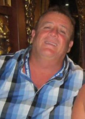 Nepean Hospital security guard Barry Jennings was shot in the calf.